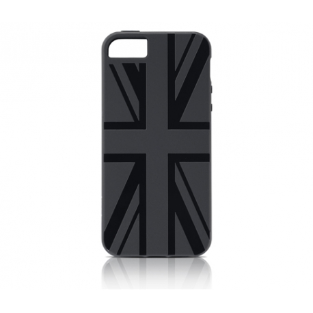 Carcasa Gear4 Union Jack Black iPhone SE/5/5S