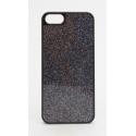 Carcasa Xqisit iPlat Glamor iPhone SE/5/5S Negro