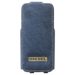 Funda Diesel Scissor iPhone SE y 5/5S Denim Canvas