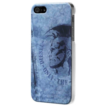 Carcasa Diesel iPhone SE y 5/5S Mohican Azul