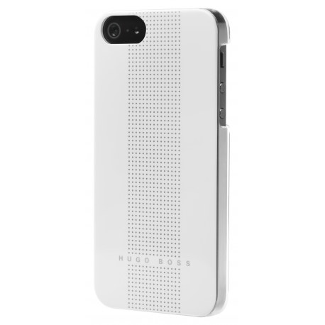 Carcasa Hugo Boss Dots Blanca iPhone 5/5S