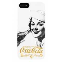 Carcasa Coca-Cola Golden Beauty iPhone 5/5S