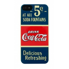 Carcasa Coca-Cola Old 5/5S Cents iPhone 5/5S