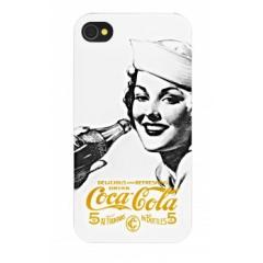 Carcasa Coca-Cola Golden Beauty iPhone 4