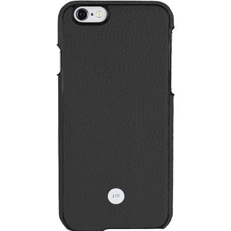Carcasa piel Just Mobile Quattro Back iPhone 6/6S negra