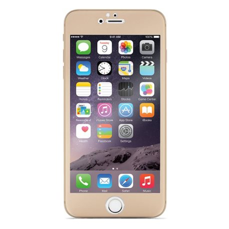 Cristal templado Optiguard Titanium iPhone 6 Oro