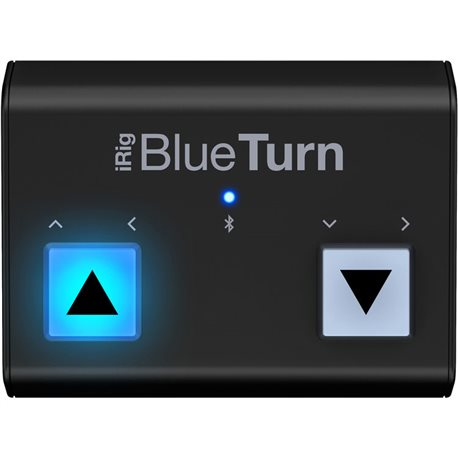 Cambiador partituras IK Multimedia iRig Blue iOS y Android