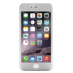 Cristal templado Optiguard Titanium iPhone 6/6S Plata