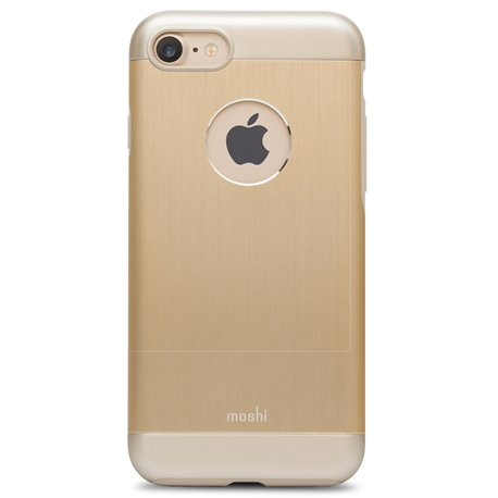 Carcasa Moshi iGlaze Armour iPhone 7 Dorado
