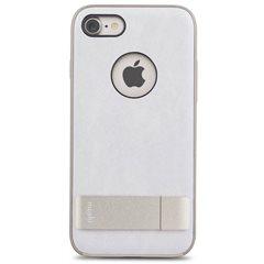 Carcasa con soporte Moshi Kameleon iPhone 7 blanco marfil