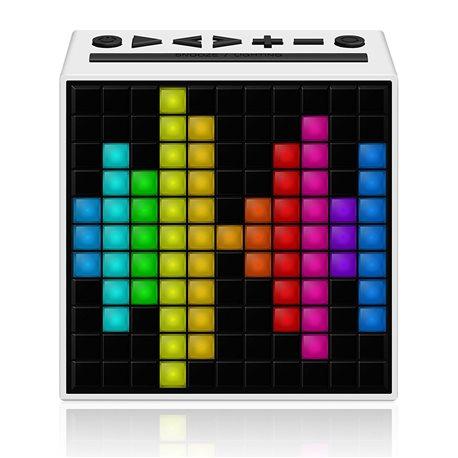 Altavoz despertador Divoom Bluetooth Timebox blanco