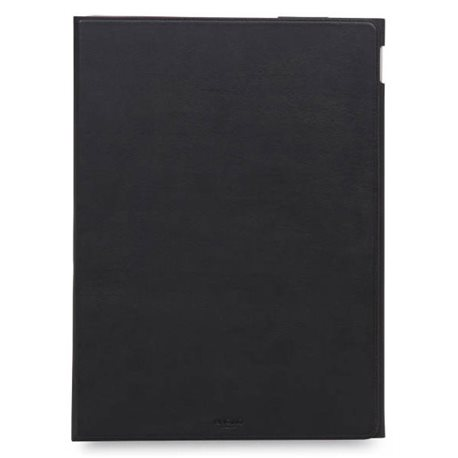 "Funda piel iPad Pro 9,7"" Knomo Full Wrap Folio Negro"