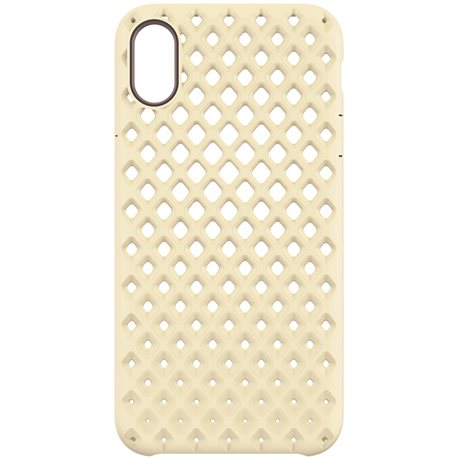 Carcasa iPhone X Incase Lite oro
