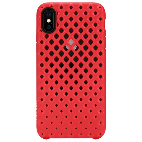 Carcasa iPhone X Incase Lite rojo