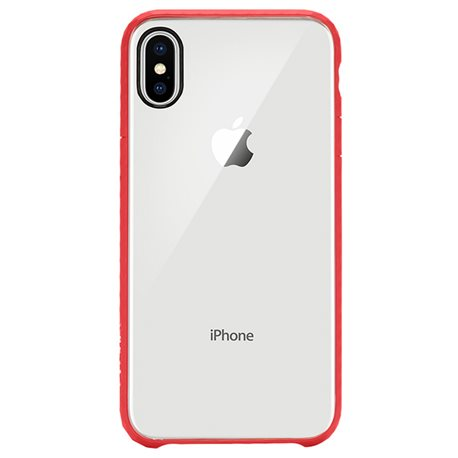 Carcasa iPhone X Incase Pop Case rojo