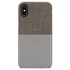 Carcasa iPhone X Incase Textured Snap Gris