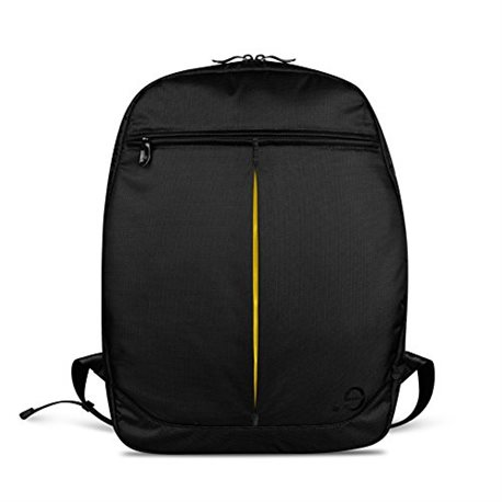 "Mochila be.ez Le Swift MacBook 15"" naranja y negro"