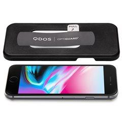 Cristal templado privacidad iPhone 8+/7+/6+ Optiguard 0,33 mm con aplicador