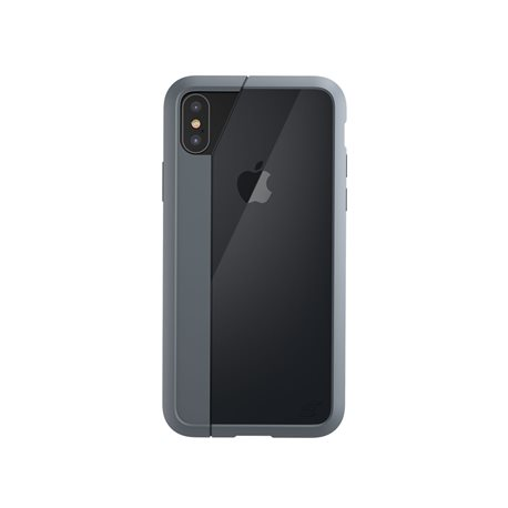 Carcasa iPhone X/Xs Element Case Illusion gris