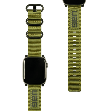 Correa Nato UAG Apple Watch 42/44 mm verde oliva