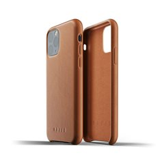 Carcasa Mujjo piel iPhone 11 Pro marrón