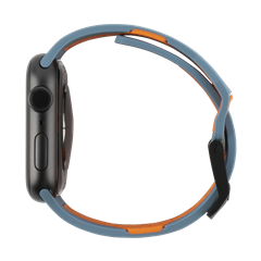Correa UAG Civilian Apple Watch 42/44 mm gris/naranja