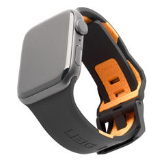 Correa UAG Civilian Apple Watch 42/44 mm negra/naranja