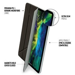 "Funda Pipetto Ultra Slim Origami iPad Pro 12,9"" 4º Gen 2020 negra"