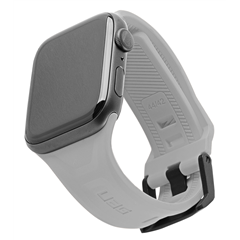 Correa UAG Scout Apple Watch 42/44 mm gris plata