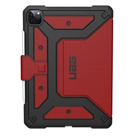 """Funda UAG Metrópolis iPad Pro 12,9"""" 4º Gen 2020 rojo"""