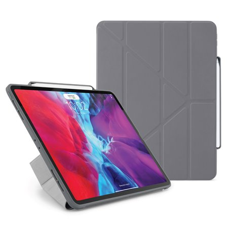 "Funda Pipetto Origami Pencil iPad Pro 12,9"" 4º Gen 2020 gris"