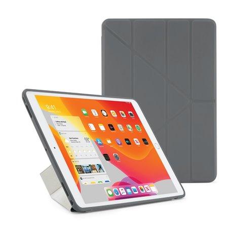 """Funda Pipetto Origami iPad 10,2"""" 8ª y 7ª Gen gris"""