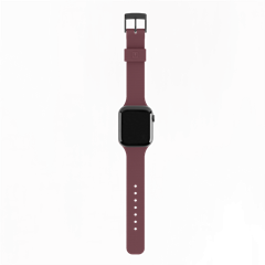 Correa silicona UAG [U] Apple Watch 38/40 mm berenjena