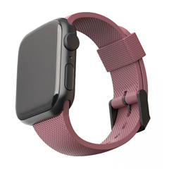 Correa silicona UAG [U] Apple Watch 38/40 mm rosa