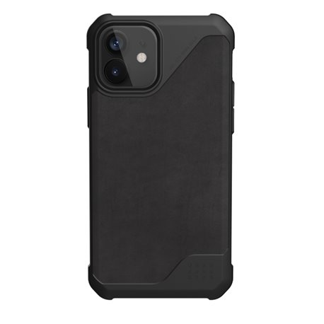 Funda iPhone 12 / Pro UAG Metrópolis LT piel negro