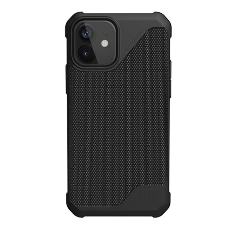 Funda iPhone 12 Mini UAG Metrópolis LT fibra negro