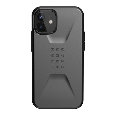 Funda iPhone 12 mini UAG Civilian gris plata