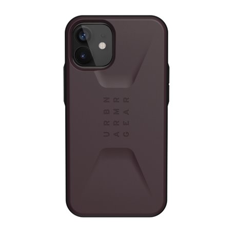 Funda iPhone 12 mini UAG Civilian berenjena