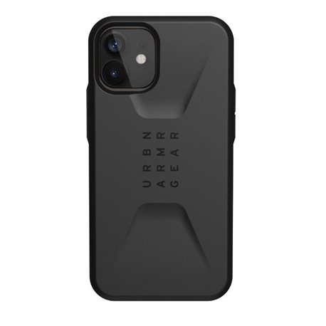 Funda iPhone 12 / Pro UAG Civilian negro