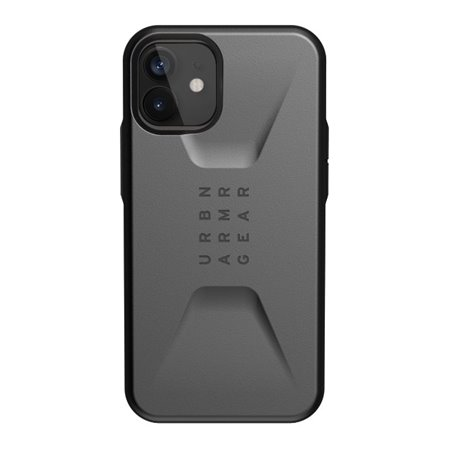 Funda iPhone 12 / Pro UAG Civilian gris plata