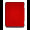 """Funda iPad 10,2"""" 8ª y 7ª Gen STM Dux Plus Duo rojo"""