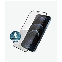 Cristal templado Panzer Glass iPhone 12 Pro Max Case Friendly negro