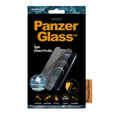 Cristal templado Panzer Glass iPhone 12 Pro Max anti bacterias