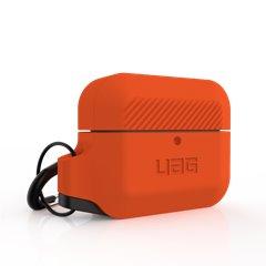 UAG funda silicona Airpods Pro 1ª y 2ª Gen naranja y negro