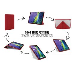 "Funda Pipetto Origami iPad Air 10,9"" 4º Gen 2020 rojo"