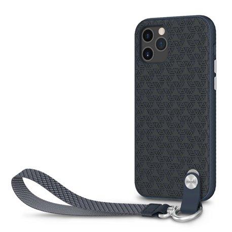 Moshi Altra funda con correa iPhone 12 / Pro azul