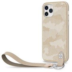Moshi Altra funda con correa iPhone 12 / Pro beige