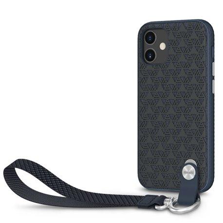 Moshi Altra funda con correa iPhone 12 mini azul