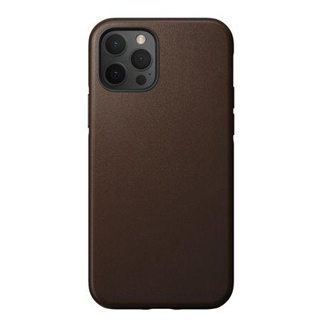 Nomad Rugged Case funda iPhone 12 / 12 Pro MagSafe marrón