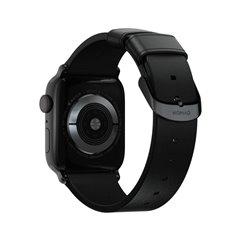 Nomad Modern correa Apple Watch 38/40 mm negro/negro